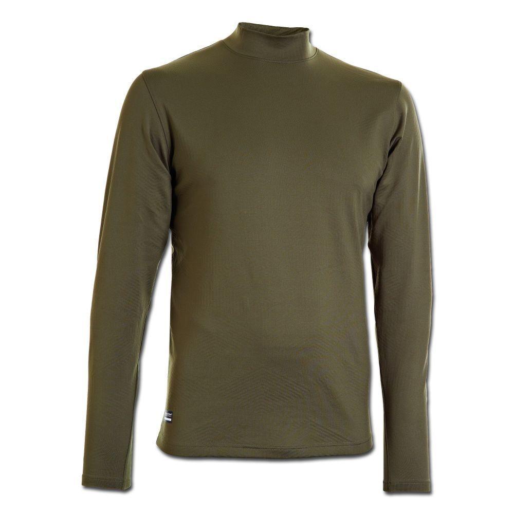 Under Armour Langarmshirt CG Tactical Mock Mock Mock Infrarot Shirt Outdoor oliv 6441b9