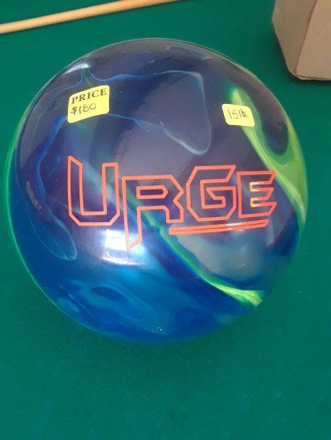 Columbia Urge bowling ball 15lb NNB