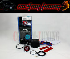 RED LED ENGINE STARTER PUSH TO START IGNITION BUTTON COMPLETE KIT