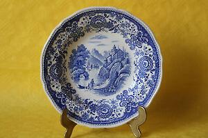 Villeroy /& Boch Burgenland blau Suppenteller tiefer Teller Salat 23,5cm