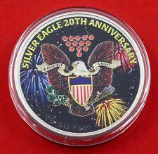 1oz Silver Eagle 20th Anniversary .999 Fine Silver 2006