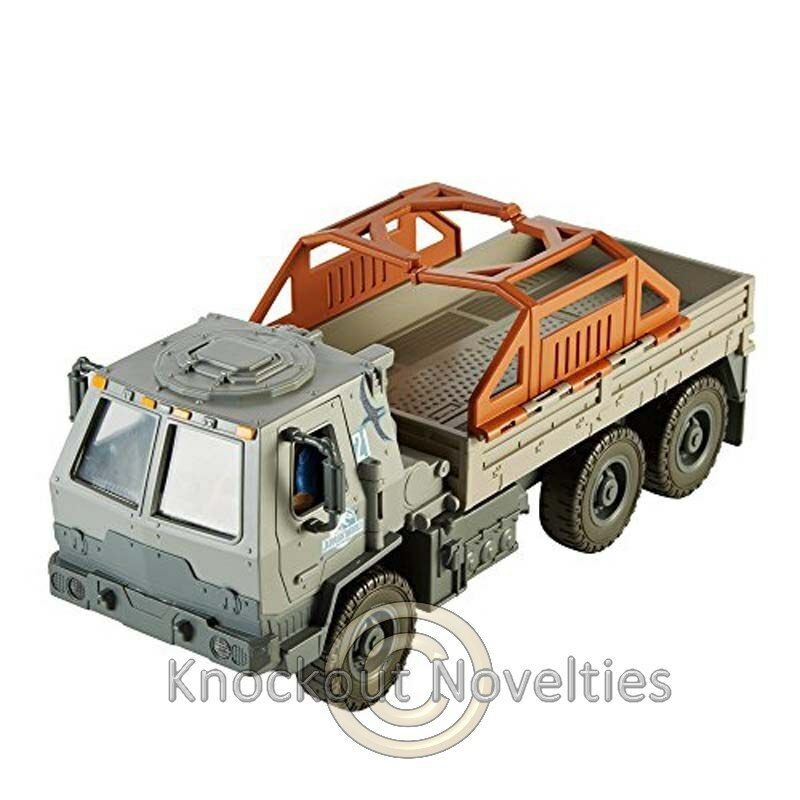Jurassic World  Matchbox Lights and Sounds Off Road Rescue Rig