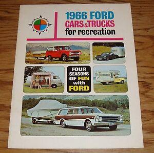 Original 1966 Ford Falcon Sales Brochure 66