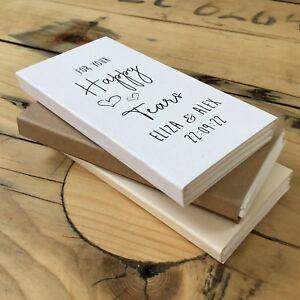 Mariage-Tissu-Support-Personnalise-Happy-larmes-faveur-des-larmes-de-joie-a-Manches