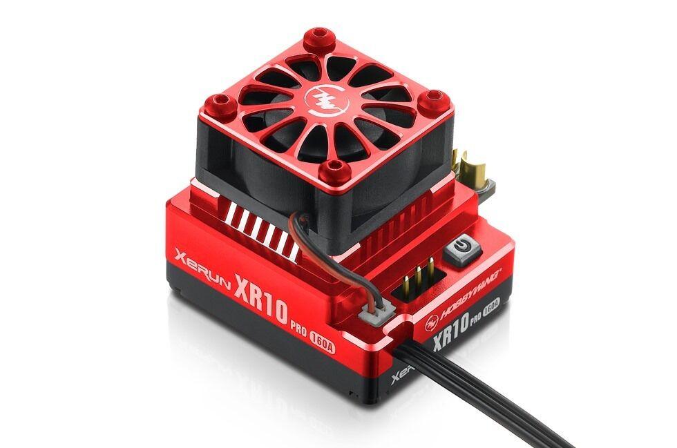 Hobbywing xerun xr10 pro (160 sensGoldt brstenlose rc esc geschwindigkeitsregler rot