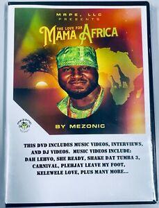 Afro-pop Afro-beat African Music Videos [DVD] Like Burna Boy WizKid Tiwa Davido
