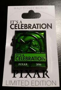 Disney Pixar It/'s a Celebration Countdown Pin 2016 LE Toy Story Green Army Man