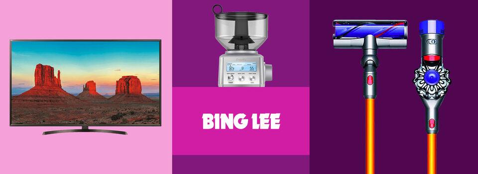 Use Code PBLEE - 20% off* at Bing Lee on eBay