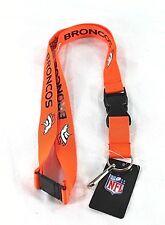 46f2c544 Denver Broncos Lanyard Keychain ID Holder Badge NFL Keychains Fashion