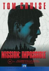 Mission-Impossible-DVD-2001-Tom-Cruise-FREE-POST