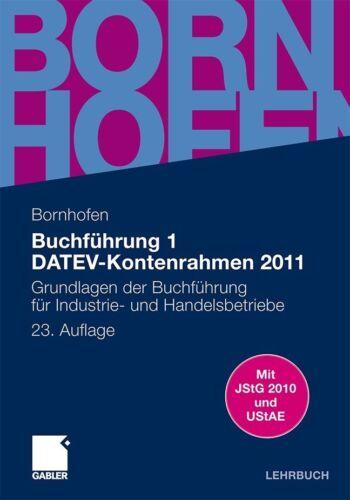 1 von 1 - Buchführung 1 DATEV-Kontenrahmen 2011 von Martin Bornhofen (2011, Taschenbuch)