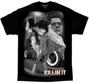 DGA-David-Gonzales-Art-Fresh-Cut-Killin-It-Greaser-Tattoo-Monster-Mens-Shirt