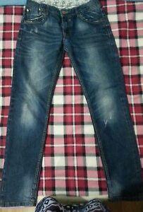 lotto-366-jeans-pantalone-pantaloni-denim-ragazzo-bambino-13-14A-ovs