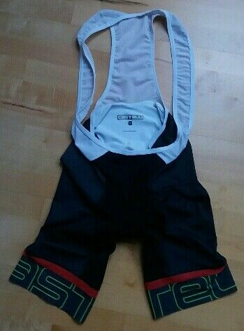 USED Castelli Mens Bib Shorts KIss3 , size M , S28(D)
