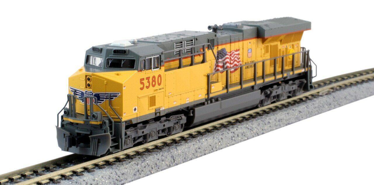 Kato (N) 176-8932DCC Union Pacific ES44AC equipado con DCC Rd   5380-como Nuevo