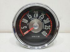 Ford Truck Vintage 4k 4000 Rpm Mechanical Tachometer F100 150