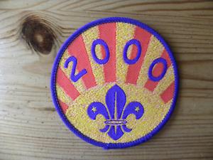 UK Scouting Millenium Uniform Badge The Year 2000