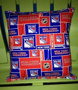 Rangers-Pillow-NHL-Pillow-New-York-Rangers-Pillow-HANDMADE-In-USA-Hockey-Pillow