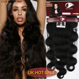 THICK Malaysian MY LADY Virgin Weave Real Human Hair
