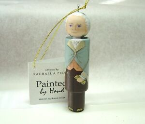 Hamilton Christmas Ornament.Details About Alexander Hamilton Christmas Ornament Hand Painted On Wood Made In Virginia