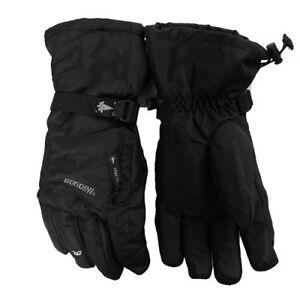 New Gordini Mens Ultra Dri-Max Waterproof Gauntlet IV Ski Winter Gloves Blk S-XL