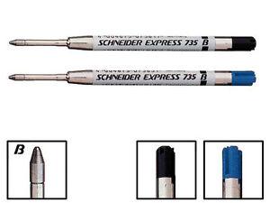 Schneider Kugelschreiber Großraummine EXPRESS 735 - B, G2-System, Plug & Play