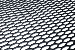Universal Black ABS Plastic Racing Race Honeycomb Mesh Grill Spoiler Bumper Vent