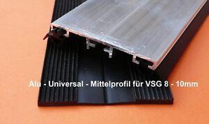 Alu-Verlegeprofil-8-bis-10mm-fuer-VSG-Glas-Mittelprofil-incl-Dichtung-8-50