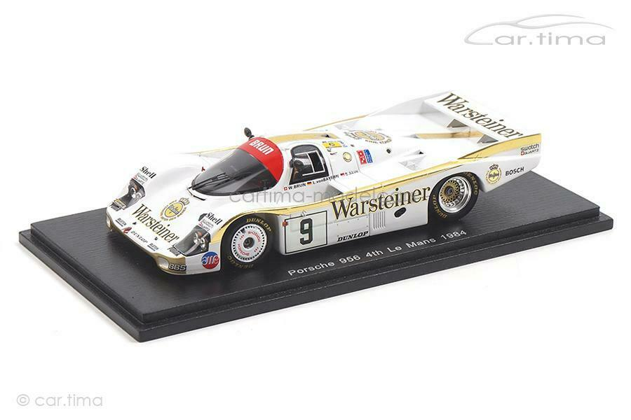 Porsche 956 - 24h le mans 1984-akin Brun de Baviera-Spark 1 43 - s7504