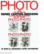 PUBLICITE ADVERTISING 096  1998  Henri Cartier Bresson photographe  grand report