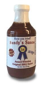 Sandy-039-s-Sauce-Original-BBQ-Sauce-18-oz-Gluten-Free-Corn-Free-No-MSG-All-Natural