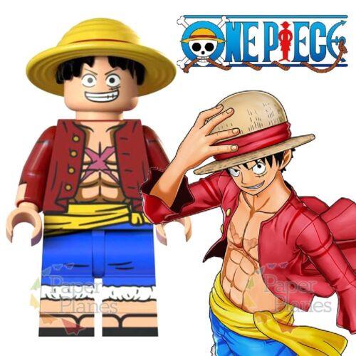 Luffy Maßgeschneidert Minifigur Passt Lego Toy One Piece XP041 Monkey D