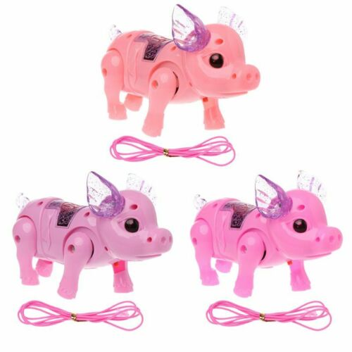 Dreamy Pig Light Walk Music Electronic Pets Robot Kids Toy Boys Girls Gift
