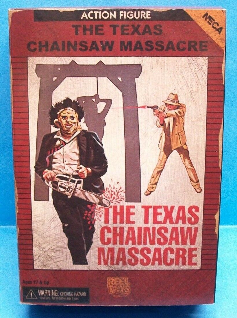 NECA Texas Chainsaw Massacre Leatherface Video Game appearance 8 Bit