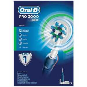 BRAUN-ORAL-B-PRO-3000-ELECTRIC-TOOTHBRUSH-RRP-200