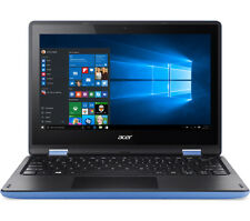 "Acer Sky Blue 11.6"" TouchScreen Windows 10 Convertible Laptop WebCam WiFi HDMI"
