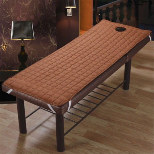 Multi-colors Comfort Beauty Salon Bed Covers Massage Table Cushion Pads w// Holes
