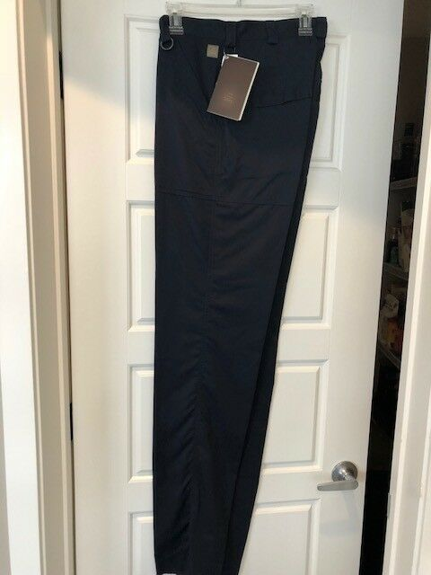 Tilley Flat Front Pant, Size 32, Navy