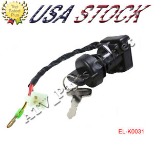 Motorcycle Accessories & Parts Professional Sale Ignition Key Switch Fits Suzuki Lt-80 Lt80 Lt 80 1996-2006 Atv New Frames & Fittings