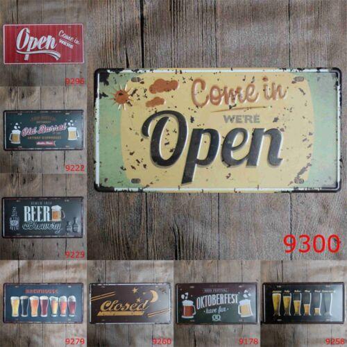 Tin Metal Signs Plaque Bar Pub Retro Anti-rust Poster Home Club LIFE Wall Art