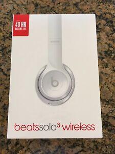 Image is loading Brand-New-Beats-Solo3-Wireless-Headphones-Gloss-White 83c4ae5c9