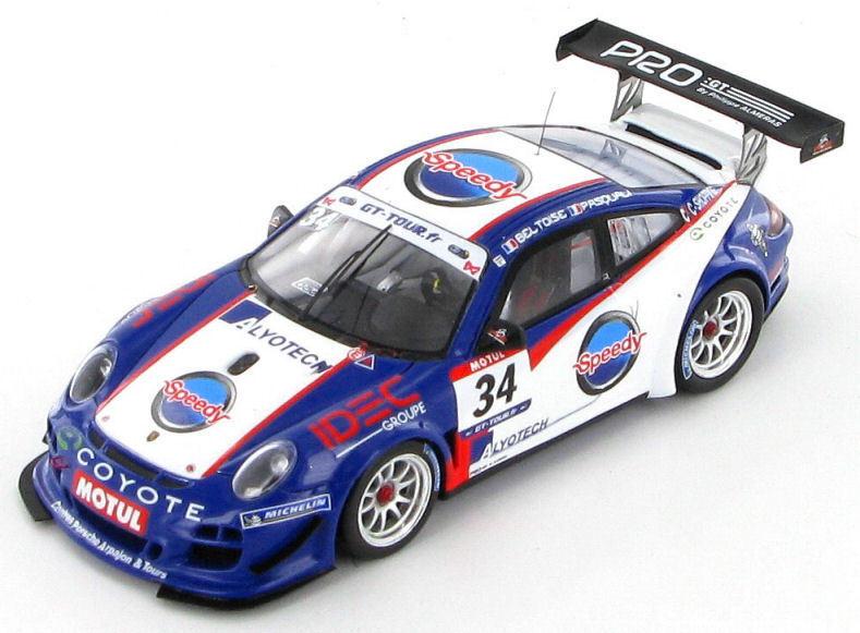 Porsche 911 GT3 R Pasquali - Beltoise French GT 2011 1 43 - SF019