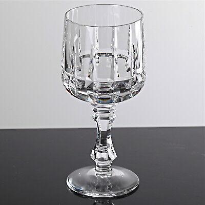 1 Schnapsglas Likörglas Schliff Kristall Gas 10,8 cm Vintage Keil Schliff