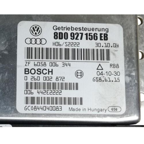 ⭐⭐⭐⭐⭐ 8D0927156EB Bosch 0260002872 Steuergerät Getriebe ⭐24 Monate Garantie*