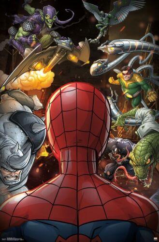 "Spider-Man Villains Poster Wall Art by Trends 23/"" x 34/"""