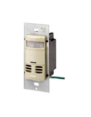 NEW IN BOX Occupancy Sensor Wall Switch Leviton OSSMT-MDT ALMOND LEVITON