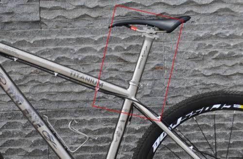 27.2//30.9//31.6 x 350mm Titanium alloy  LT Bicycle Bike Mountain Bike Seatpost
