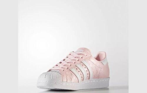 84 Blanco Rrp Uk 80s Adidas Rosa 95 Entrenadores Mujeres Superstar Originals Tamaño 6 £ x110RYv7