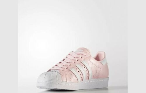 6 Adidas Rrp Taille 80s Originals Rose Blanc Femmes 100 Superstar 00 Baskets Uk € CzCpq