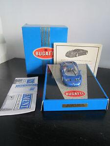Norev Bugatti Eb 110 Rare Bleu Metal 1/43 Neuve En Boite